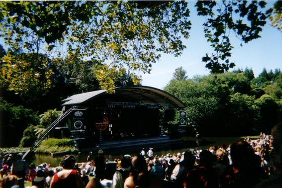 Womad main stage
